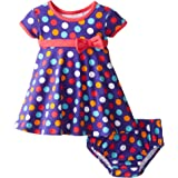 Bonnie Baby Baby-Girls Knit Dress and Panty Set