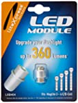 LiteXpress LXB404 LED Upgrade Module, 360 Lumens for 3-6 C/D Cell Maglite Torches