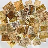 60pcs Scrapbook Stickers Game Map Stickers, Doraking DIY Decorative Map Stickers for Laptop,Envelop,Scrapbook, Game Map (Magi