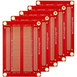Gikfun Solder-able Breadboard Gold Plated Finish Proto Board PCB DIY Kit for Arduino (Pack of 5PCS) GK1007