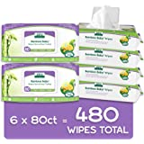 Aleva Naturals Bamboo Baby Wipes   Perfect for Sensitive Skin   Extra Strong and Ultra Soft   Natural and Organic Ingredients