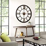 """FirsTime & Co. 10084 Big Time Wall Clock, 40"""", Oil Rubbed Bronze"""