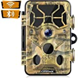 Campark Trail Camera-WiFi 20MP 1296P Hunting Game Camera with Night Vision Motion Activated for Outdoor Wildlife Monitoring W