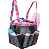 Giway Durable Portable Mesh Shower Caddy,Large Capacity Multiple Pockets Bathroom Caddy,Quick-Drying Multiple Uses Shower Tot