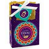 Big Dot of Happiness Happy Diwali - Festival of Lights Party Favor Boxes - Set of 12