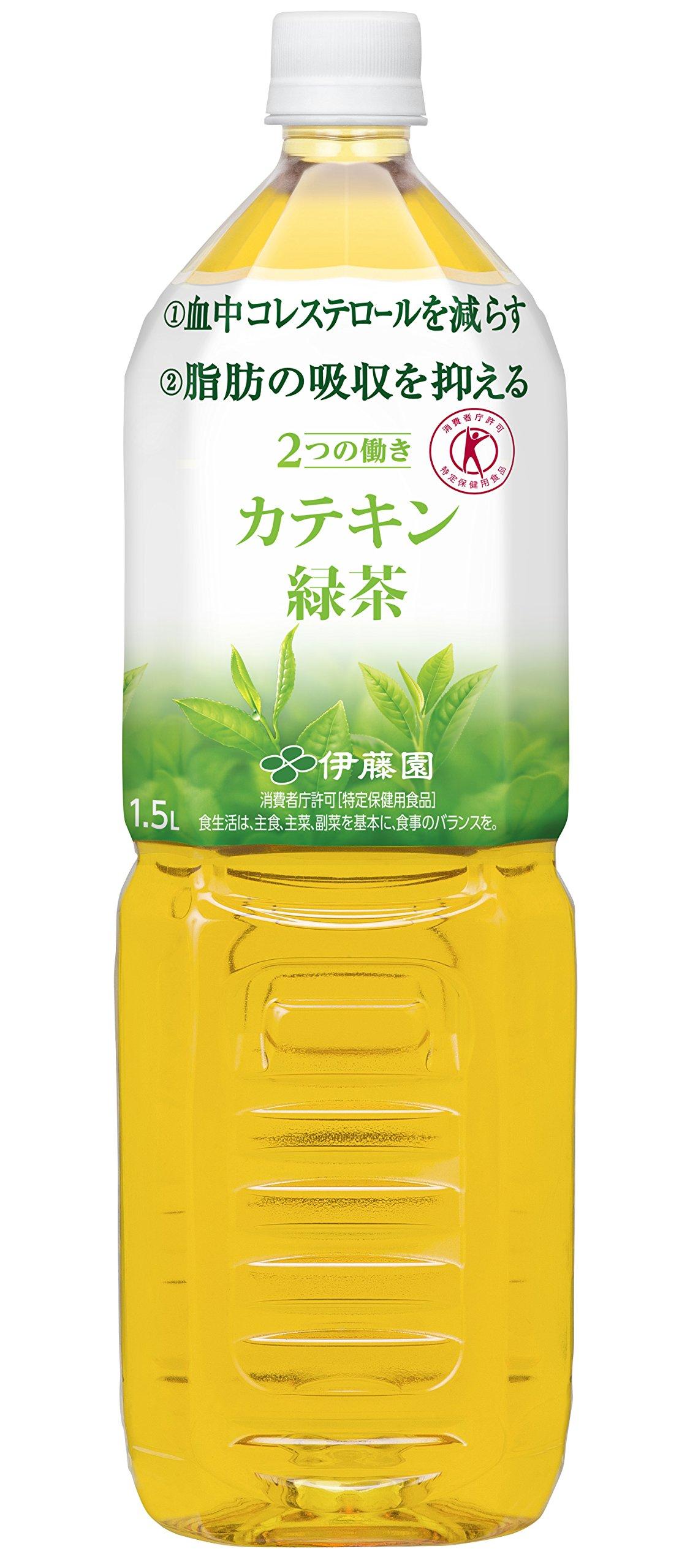 2つの働き カテキン緑茶 ペット 1500mlx8本 (トクホ)