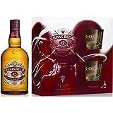 【ギフトに】シーバスリーガル 12年 グラス2個付き ブレンデッドスコッチ [ ウイスキー スコットランド 700ml ] [ギフトBox入り]