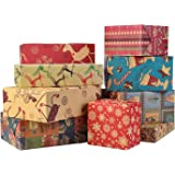 """Wrapping Paper, 10 Pack 30""""x20"""" Large Kraft Sheets"""