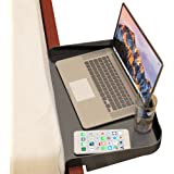 Bedside Shelf for Bunk Beds, Lofts & Bed Frames - Heavy Duty Storage Table and Tray Fits Laptops, Book & Drinks - Great for S