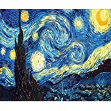 Diamond Painting Kit Full Drill DIY 5D Rhinestone Embroidery Cross Stitch Arts Craft for Home Wall Decor Starry Night 12x16 i
