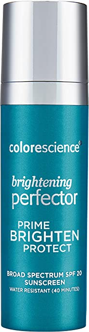 Colorescience Brightening Perfector 3-in-1 Face Primer SPF 20 for Women, 30ml