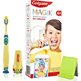 COLGATE Magik Kids Manual Toothbrush with Augmented Reality App and Fun Brushing Games 6+ Years