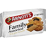 Arnott's Family Assorted Biscuits, 500 g
