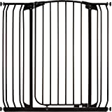 Dreambaby Chelsea Xtra-Tall Security Gate and Extension Set, Black, 3 Count