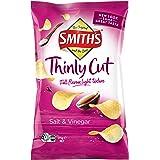 Smiths Thinly Cut Salt & Vinegar Potato Chips 12 X 175 Grams