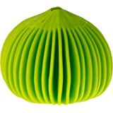 HIC Harold Import Co. 8906 Garlic Peeler, Silicone, Lime Green