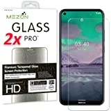 [2 Pack] MEZON Crystal Clear Tempered Glass for Nokia 3.4 – Premium 9H HD Screen Protector – Case Friendly, Shock Absorption