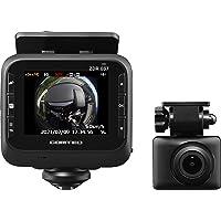 コムテック ドライブレコーダー ZDR037 800万画素の 360°カメラで全方位録画+STARVIS搭載リヤカメラで…