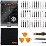 Jakemy 43 in 1 Screwdriver Set Precision Repair Tool Kit with 36 Magnetic Driver Bits Screwdriver Kit for iphone Android Cell