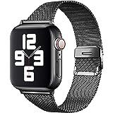 Apple watch バンド iwatch バンド ステンレス留め製 ミラネーゼループ コンパチブル コンパチブルiWatch通用ベルト apple watch 6/5/4/3/2/1/SEに対応38mm/40mm/42mm/44mm アップルウォ