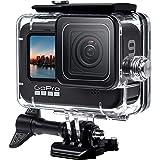 GoPro HERO 9 Blackブラック対応 | 60m水深ダイビング| 防水防塵保護ハウジング| Go Pro Hero9 アクションカメラ対応