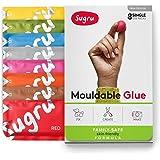 Sugru スグルー成形可能な接着剤 - 家族で安心  肌に優しい配合新色(8 パック)