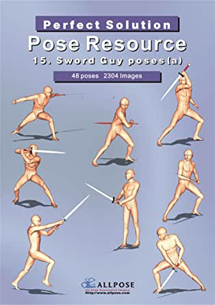 Pose Resource 15 Sword Guy a