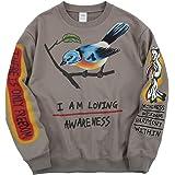 Kanye I Am Loving Awareness Hoodie Hip Hop Graffiti Letter Print Sweatshirt