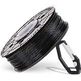 XYZプリンティング タフPLAフィラメント(耐衝撃性と伸縮性に優れたPLA) ブラック 600g ダヴィンチnano/mini/Jr/Super/Colorシリーズ用(リール式/NFCタイプ) RFPLEXJP02H [3Dプリンター材料]