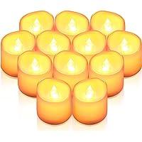 AMIR LED キャンドルライト LEDキャンドル ろうそく 癒しの灯り 揺らぐ炎 リアル感 火を使わない 安全 省エ…