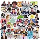 The Office Stickers 50 Pack Decals Office Funny Merchandise Poster Sticker for Laptops Computers Hydro Flasks