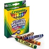 Crayola 52-3281 Large Washable Crayons, 16ct Large Size