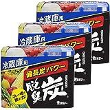 【まとめ買い】 脱臭炭 冷蔵庫 冷蔵庫用 脱臭剤 140g×3個