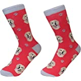 Golden Retriever Dog Breed Socks Unisex Sock Daddy by E&S Pets, One Size Fits Most
