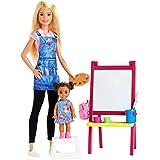 バービー おしごとあそび バービーとおしごと! アートのせんせいセット GJM29 着せ替え人形 お世話セット