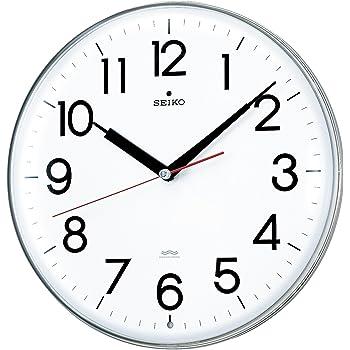 セイコー クロック 掛け時計 電波 アナログ 白 KX301H SEIKO
