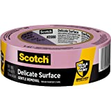 ScotchBlue 2080EL-36E Painter's Tape 36mm x 54.8m, 1, Blue