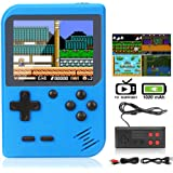 DigitCont Retro Game Console Mini Game Pocket Game Player with 500 Classic Game 1020mAh Rechargeable Battery 3 Inch IPS Scree
