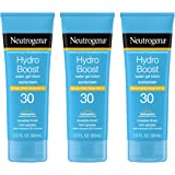 Neutrogena Hydro Boost Water Gel Non-Greasy Moisturizing Sunscreen Lotion with Broad Spectrum SPF 30, Water-Resistant Hydrati