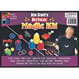 Jim Stott's 'Deluxe Magic Kit' for Kids, Magic Tricks Set for Girls and Boys, Ball and Vase, X-Ray Vision, Spike The Coin, Ri