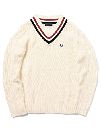 Pique Stitch Cotton Cricket Sweater 11-15-0782-060: Off
