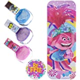 Townley Girl Trolls World Tour Nail Polish with Themed Purse, Age 3+, 3 Pack