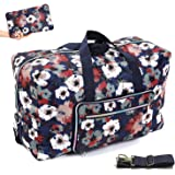 "22"" Foldable Large Travel Duffel Duffle Bag Overnight Carryon Weekend Bag Shoulder Bag Water Rresistant 8 Color Choices"