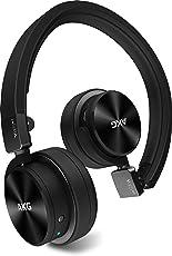 AKG Y45BT Bluetoothヘッドホン 密閉型/オンイヤー/ポータブル ブラック Y45BTBLK 【国内正規品】