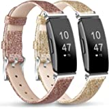 AK Soft TPU Wristbands Compatible with Fitbit Inspire HR/Fitbit Inspire/Fitbit Ace 2 Bands, Sports Waterproof Wristbands for