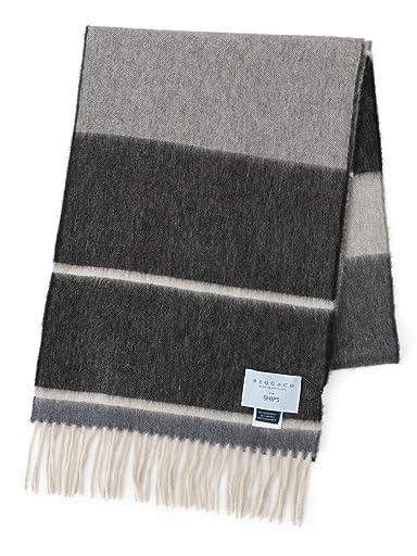 Wool Angora Scarf 118-36-0034: Charcoal