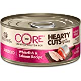 Wellness CORE Hearty Cuts Shredded Whitefish & Salmon Canned Cat Food 5.5oz
