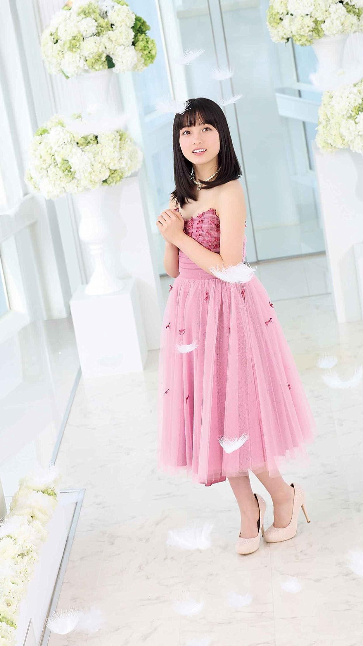 橋本環奈 ピンクのドレスを着た環奈さん Iphone8 7 6 Plus