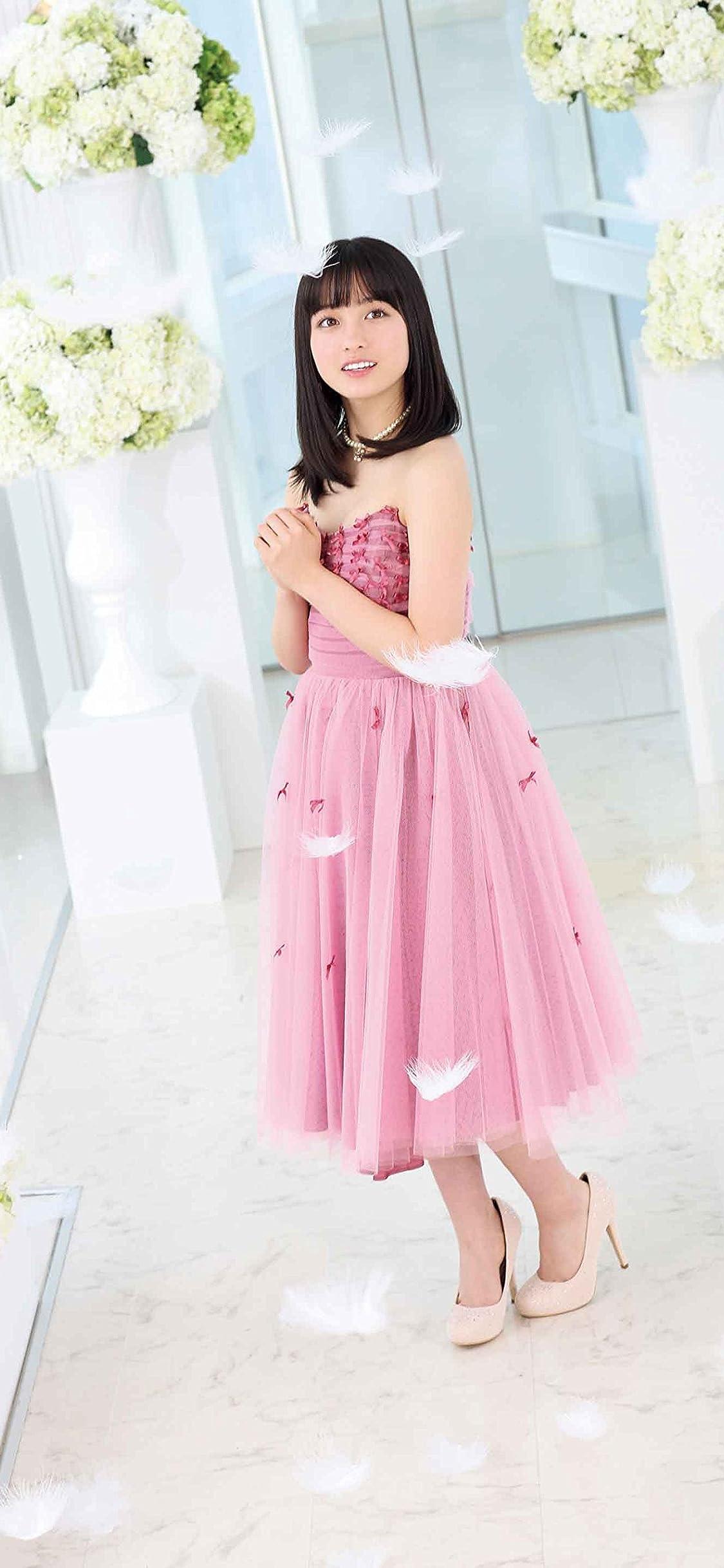 橋本環奈 ピンクのドレスを着た環奈さん Iphone X 壁紙 1125x2436