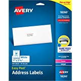 """Avery Address Labels with Sure Feed for Laser & Inkjet Printers, 1"""" x 2-5/8"""", 750 Labels"""